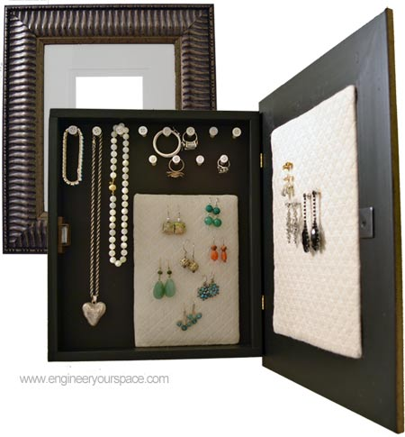 How to make a DIY jewelry organizer