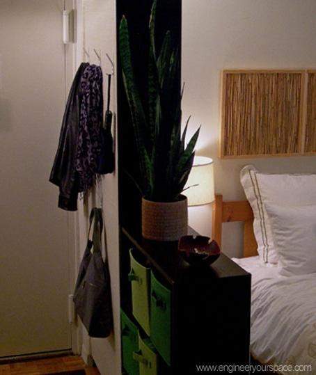 Bookcase room divider   Smart DIY Solutions for Renters