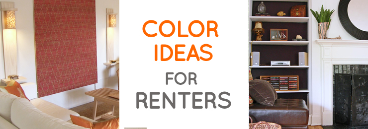 Home Color Inspiration for Renters