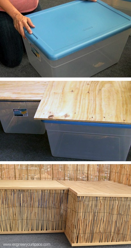 Easy Outdoor Diy Bench Smart Diy Solutions For Renters