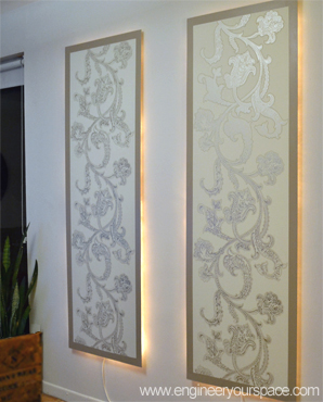 Resource Guide How To Make Lighted Wall Panels