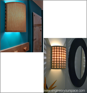 How to make a wall lamp