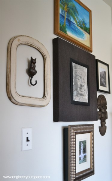 2 Comments & Simple wall art: framed door knocker | Smart DIY Solutions for Renters