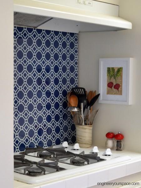 DIY Temporary Kitchen BacksplashSmart DIY Solutions for Renters