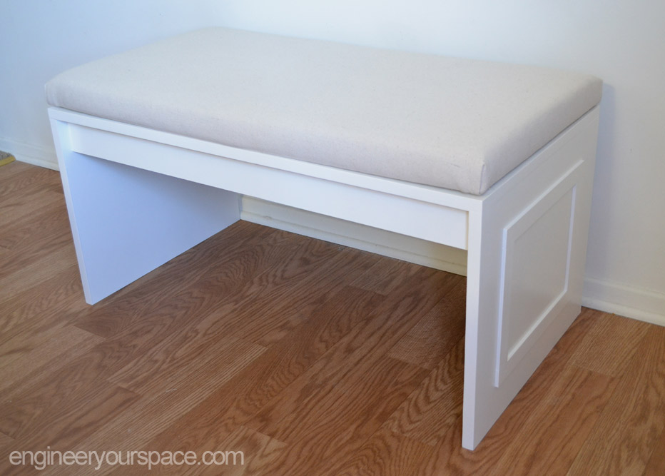 Diy No Sew Bench Cushion Smart Diy Solutions For Renters