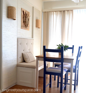 Dining room makeover DIY wall dcor with wall panels Smart DIY