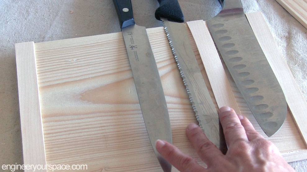 Diy Wall Mounted Wood Knife Rack Smart Diy Solutions For