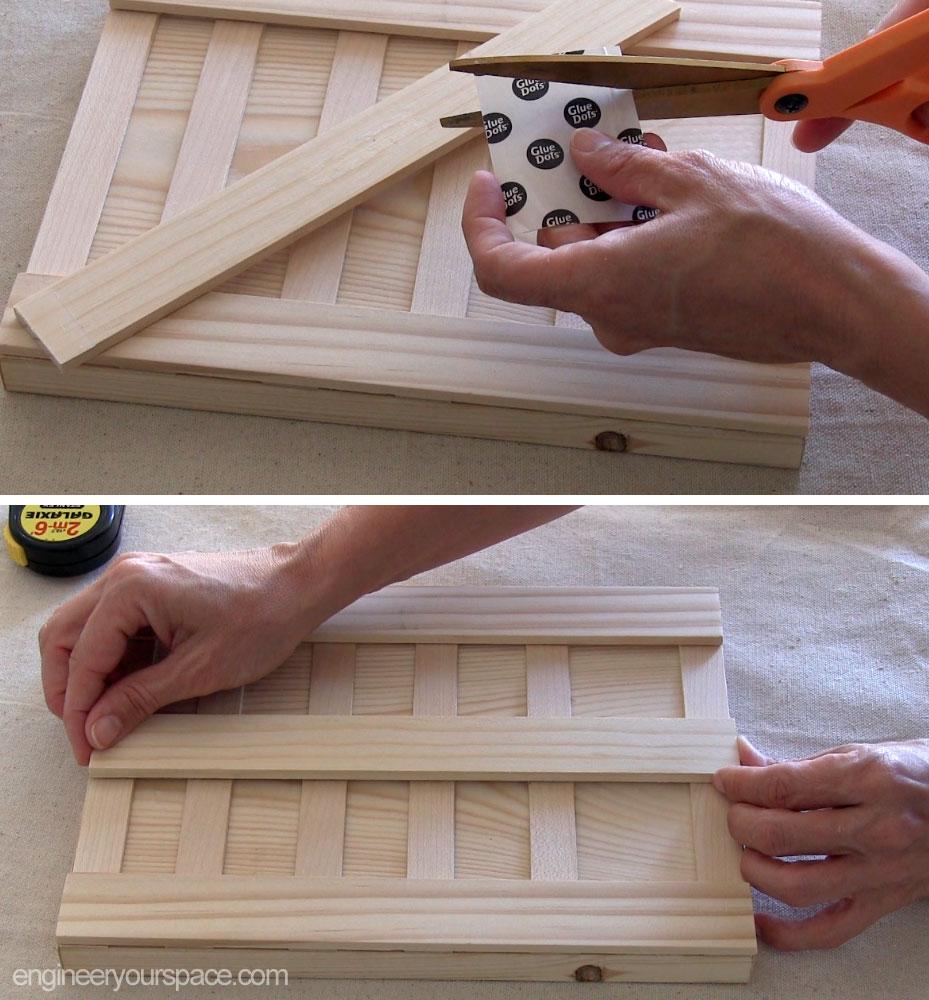 Kitchen Bar Against Wall: DIY Wall Mounted Wood Knife Rack