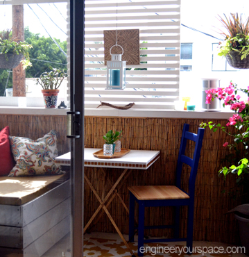 How to decorate a balcony – LA Edition part 2