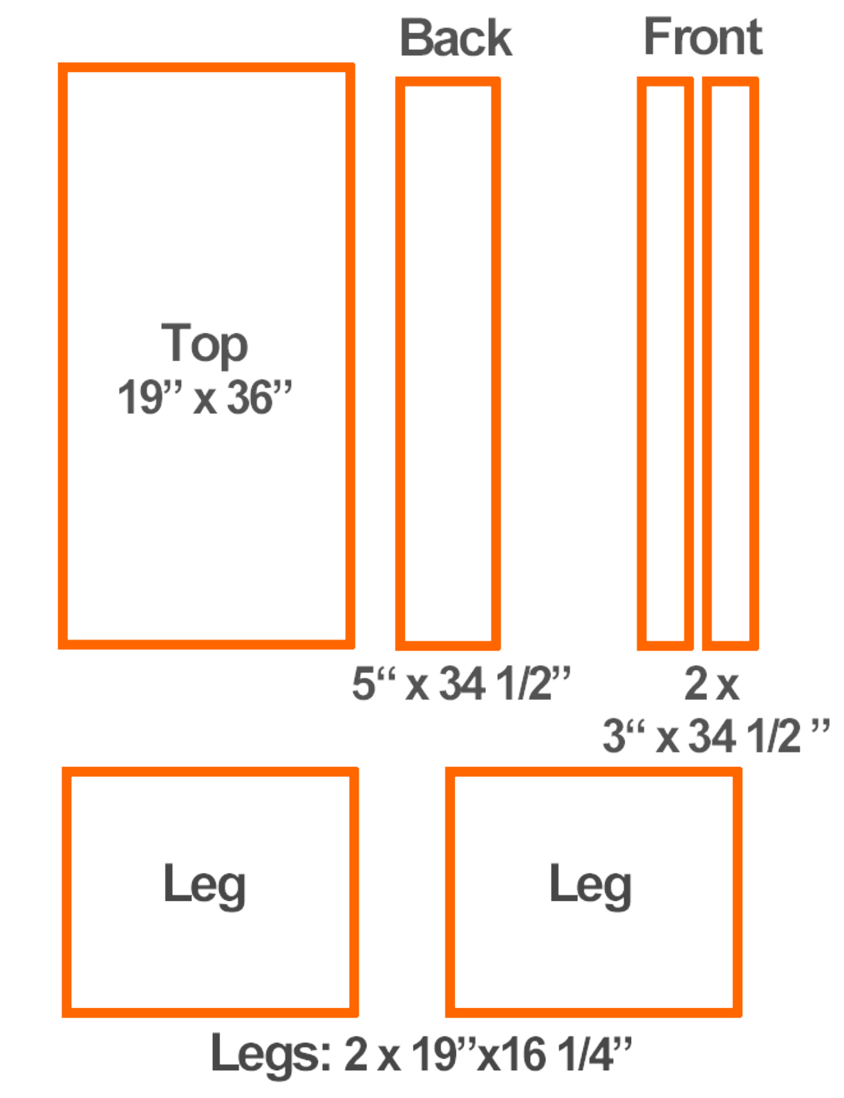 Mdf Sheet Sizes ~ Diy mdf bench smart solutions for renters