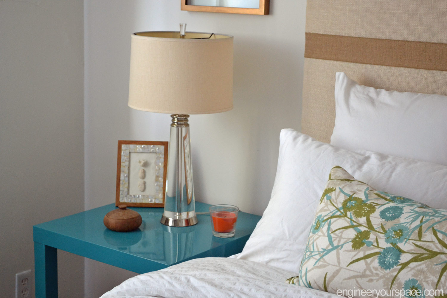 diy nightstand ikea lack table hack smart diy solutions for renters