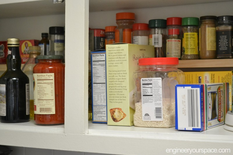 Small kitchen ideas add an extra shelf in your upper for Additional shelves for kitchen cabinets