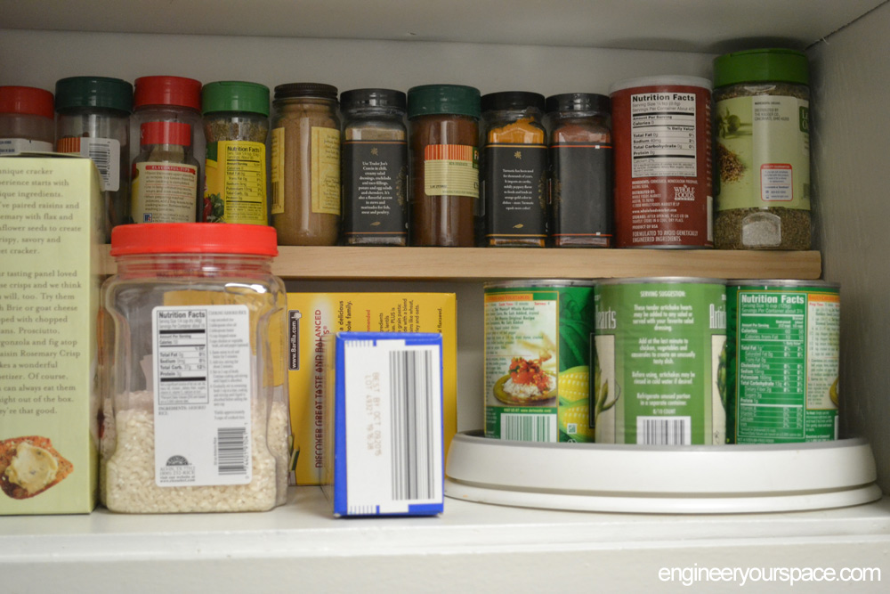 easy extra kitchen cabinet shelf small kitchen ideas  add an extra shelf in your upper cabinets      rh   engineeryourspace com