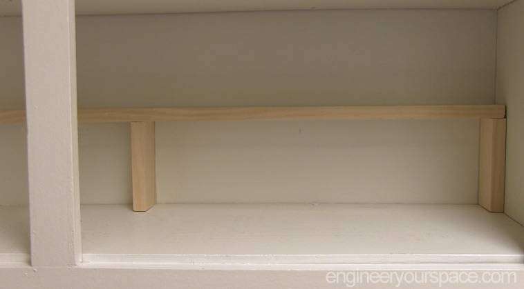 ... Easy Extra Shelf Inside Cabinet Finished Shelf