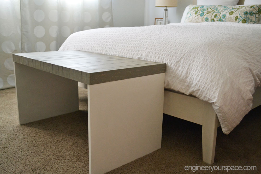 ikea bench makeover smart diy solutions for renters. Black Bedroom Furniture Sets. Home Design Ideas