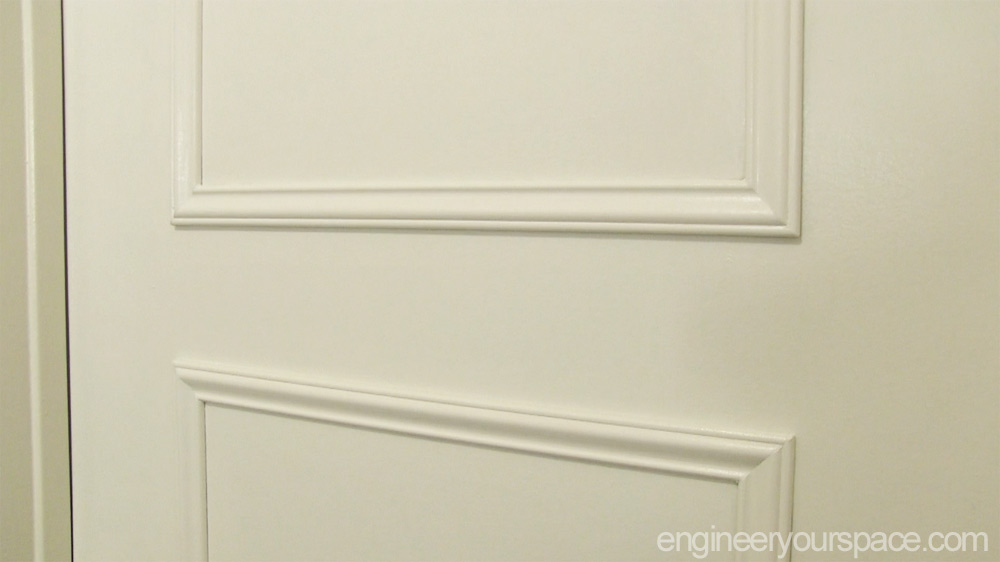 Door-moulding-close-up & Easy door upgrade with moulding | Smart DIY Solutions for Renters