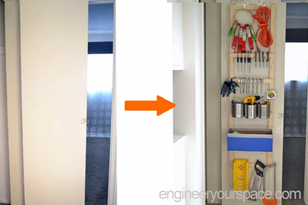 Over-the-door-organizer-for-tool-closet