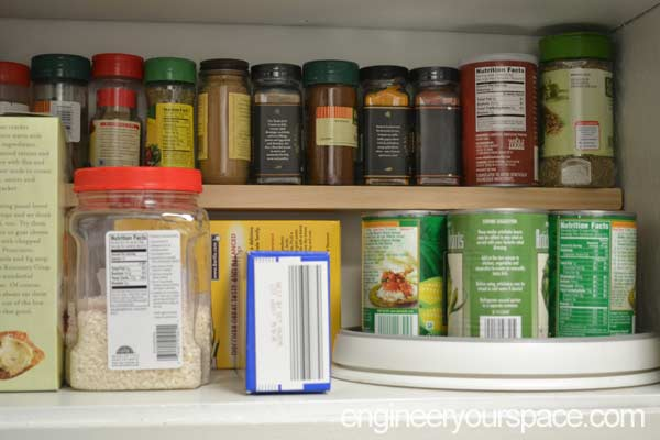 Seven quick ways to organize a closet smart diy for Additional shelves for kitchen cabinets