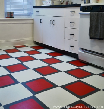 How to install a temporary tile floor