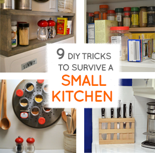 Nine DIY ideas to survive any small kitchen | Smart DIY ...
