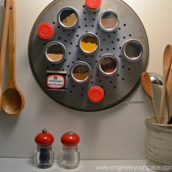 DIY magnetic spice rack 1