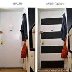 RG-Ep.8 how to decorate an entryway before and after