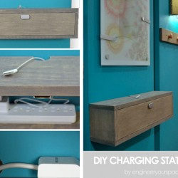 DIY charging Station/Shelf