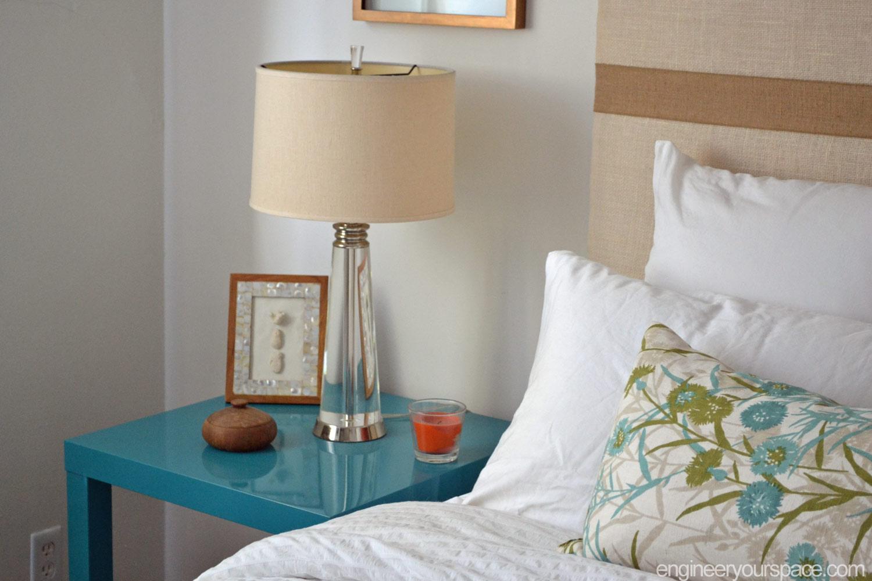 Diy Nightstand Ikea Lack Table Hack Smart Diy Solutions For Renters