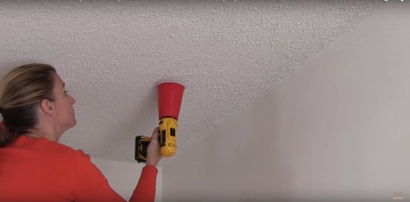 Mess-free drilling
