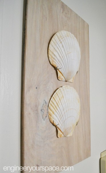 Shell-wall-art-completed