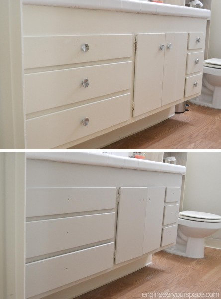 Cabinet-before-and-after---grey-paint