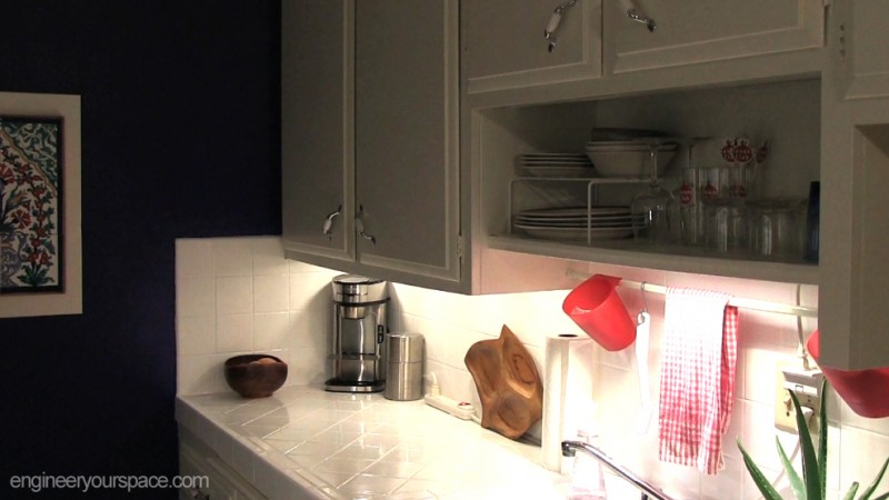 Finished kitchen lighting