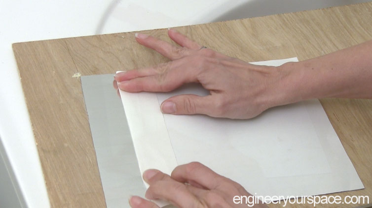 Smart-Tile-Peeling-off-the-backing