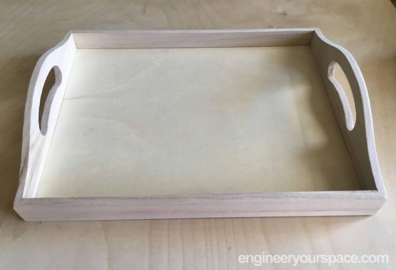 Plain-tray