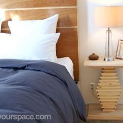 DIY-Pedestal-Side-Table-in-bedroom