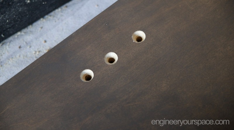 Murphy-bed-side-panel-counter-sunk-holes
