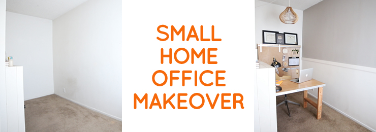 Small Office Makeover - Home Office Inspiration