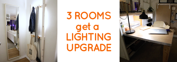 Kitchen upgrade and more with under cabinet lighting
